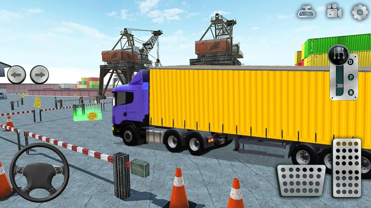 3D Truck Parking Simulator 2019: Real Truck Games 2.2 Screenshot 3