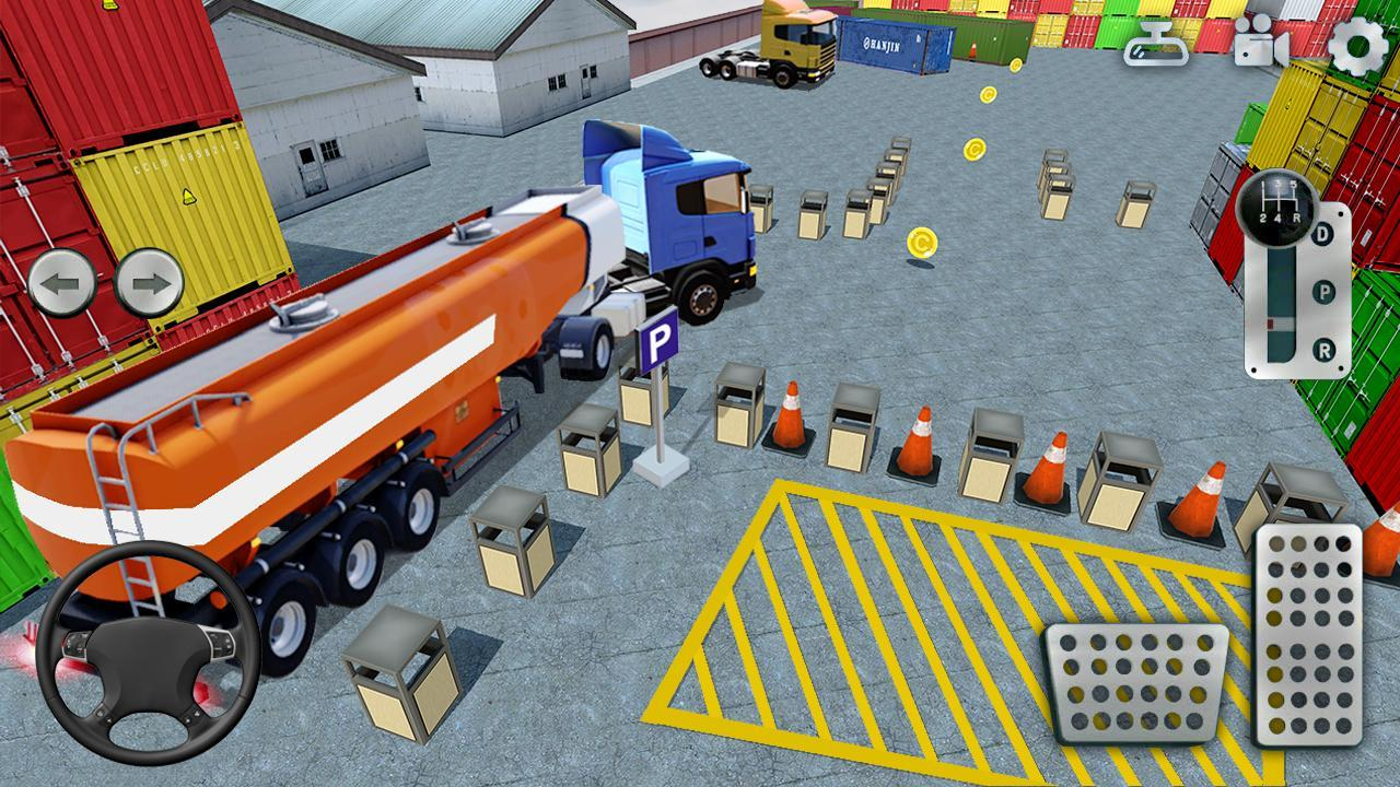3D Truck Parking Simulator 2019: Real Truck Games 2.2 Screenshot 4