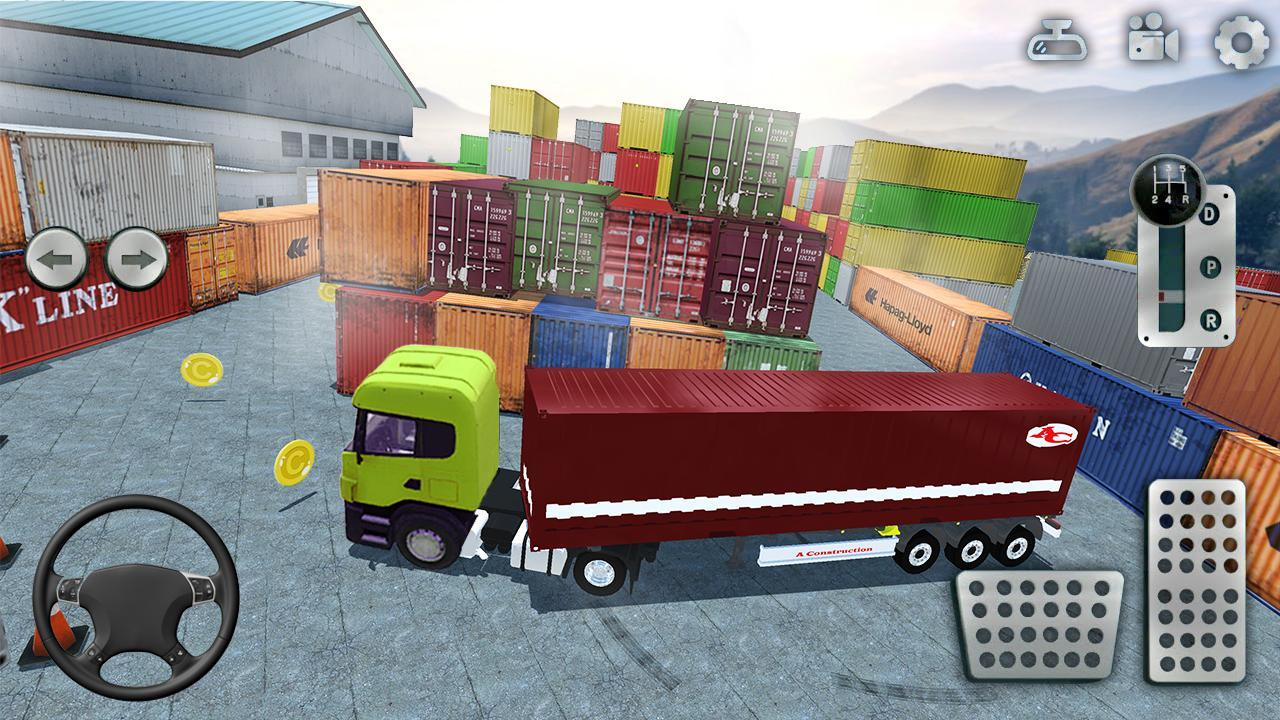 3D Truck Parking Simulator 2019: Real Truck Games 2.2 Screenshot 5