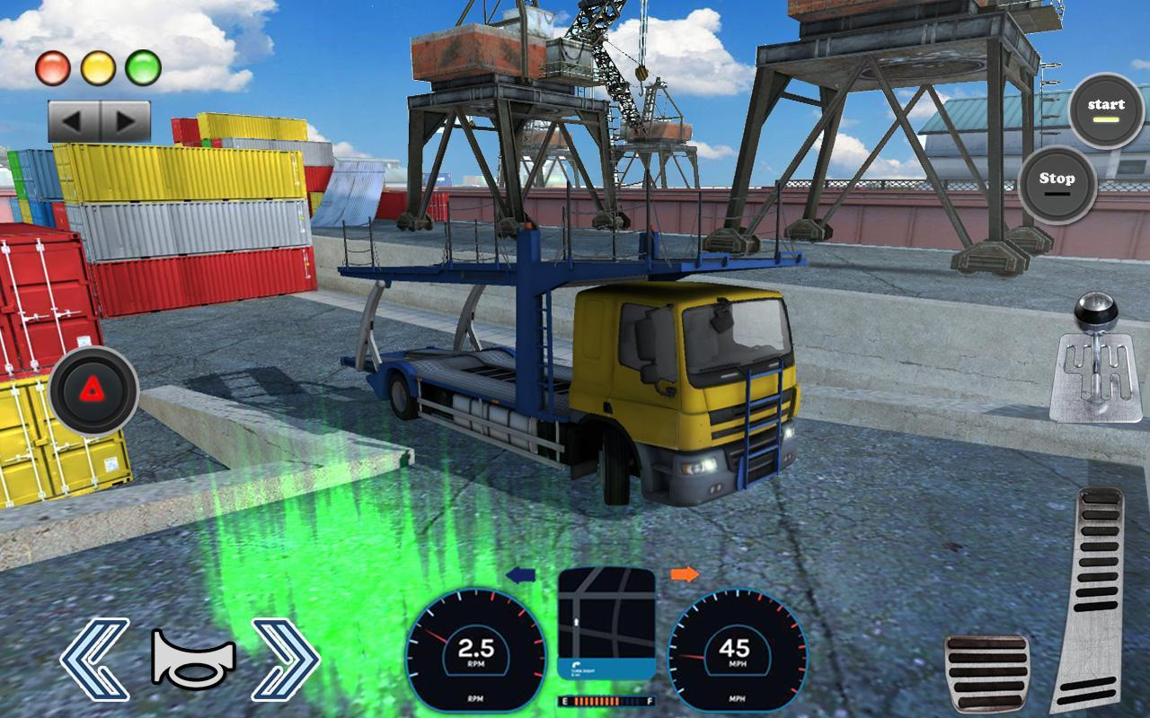 3D Truck Parking Simulator 2019: Real Truck Games 2.2 Screenshot 6