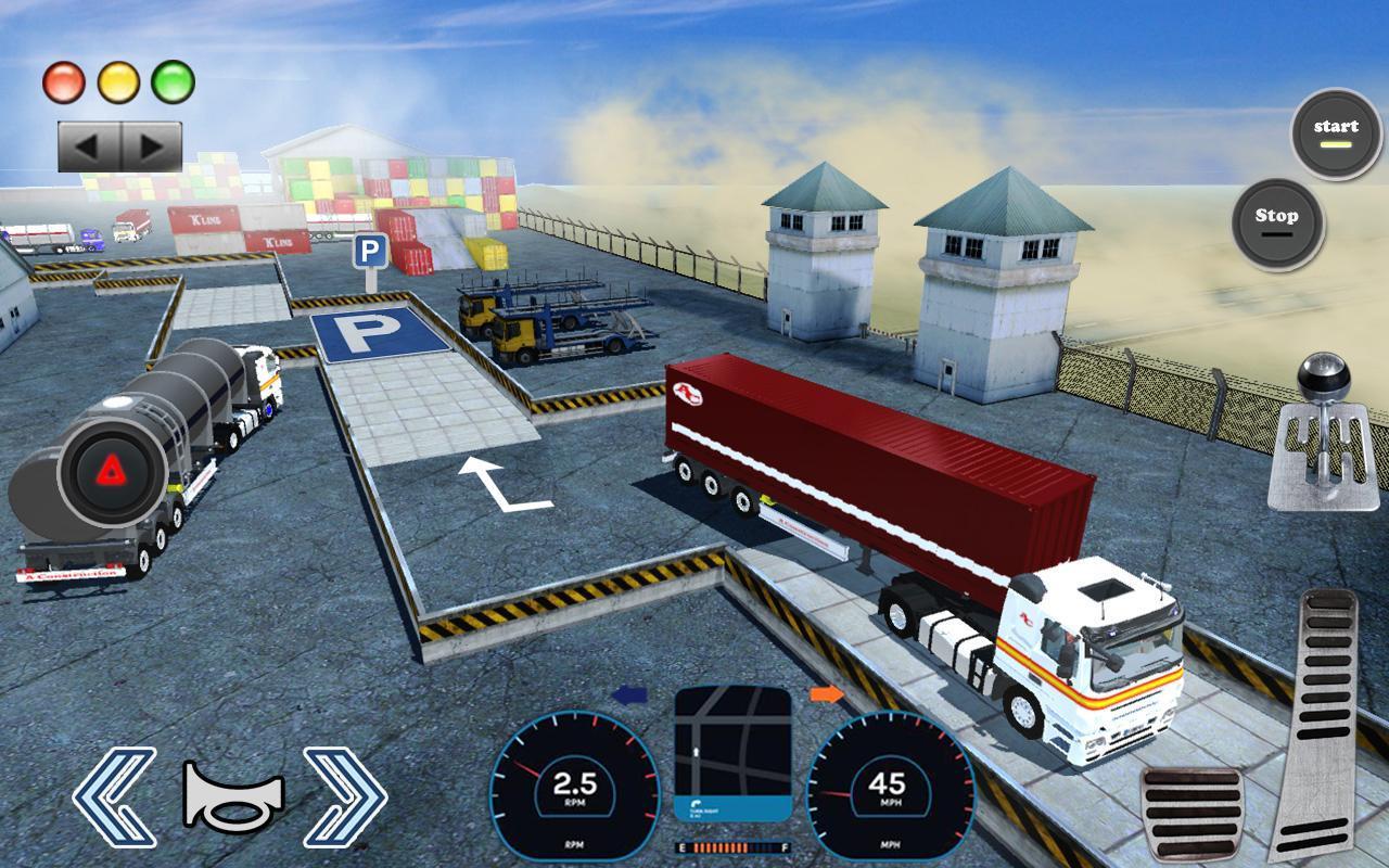 3D Truck Parking Simulator 2019: Real Truck Games 2.2 Screenshot 7