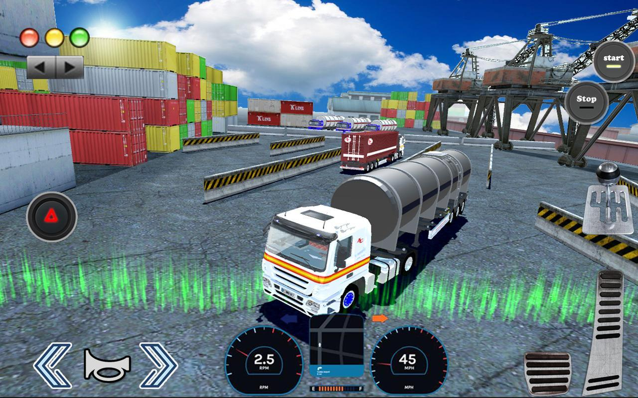 3D Truck Parking Simulator 2019: Real Truck Games 2.2 Screenshot 8