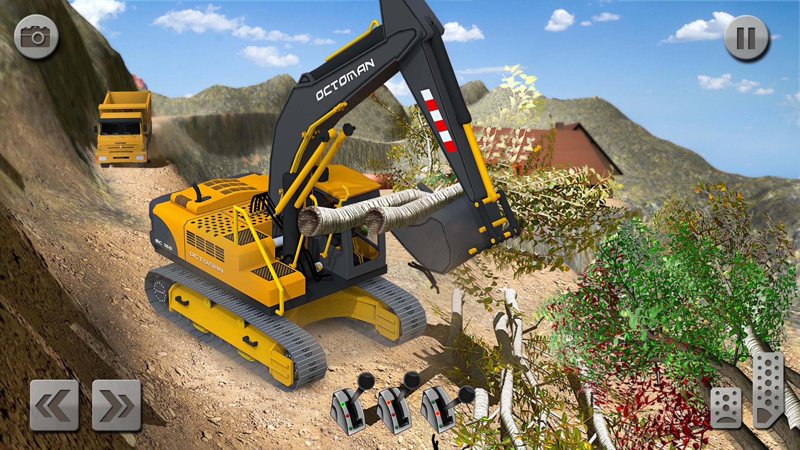 Sand Excavator Truck Driving Rescue Simulator game 5.2 Screenshot 14