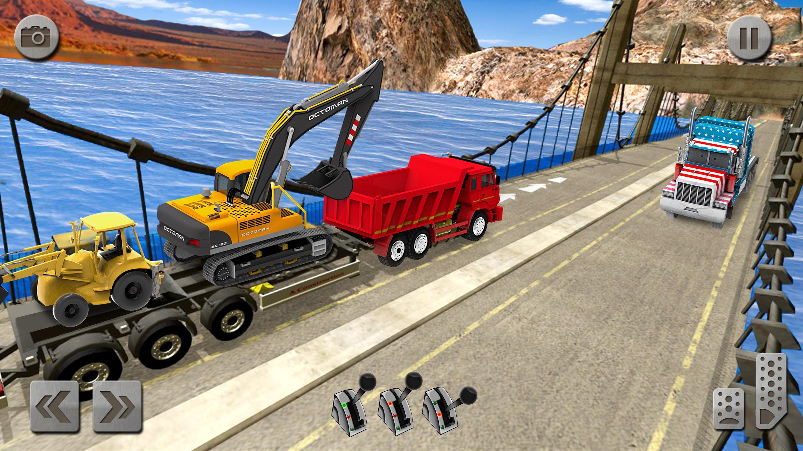 Sand Excavator Truck Driving Rescue Simulator game 5.2 Screenshot 2
