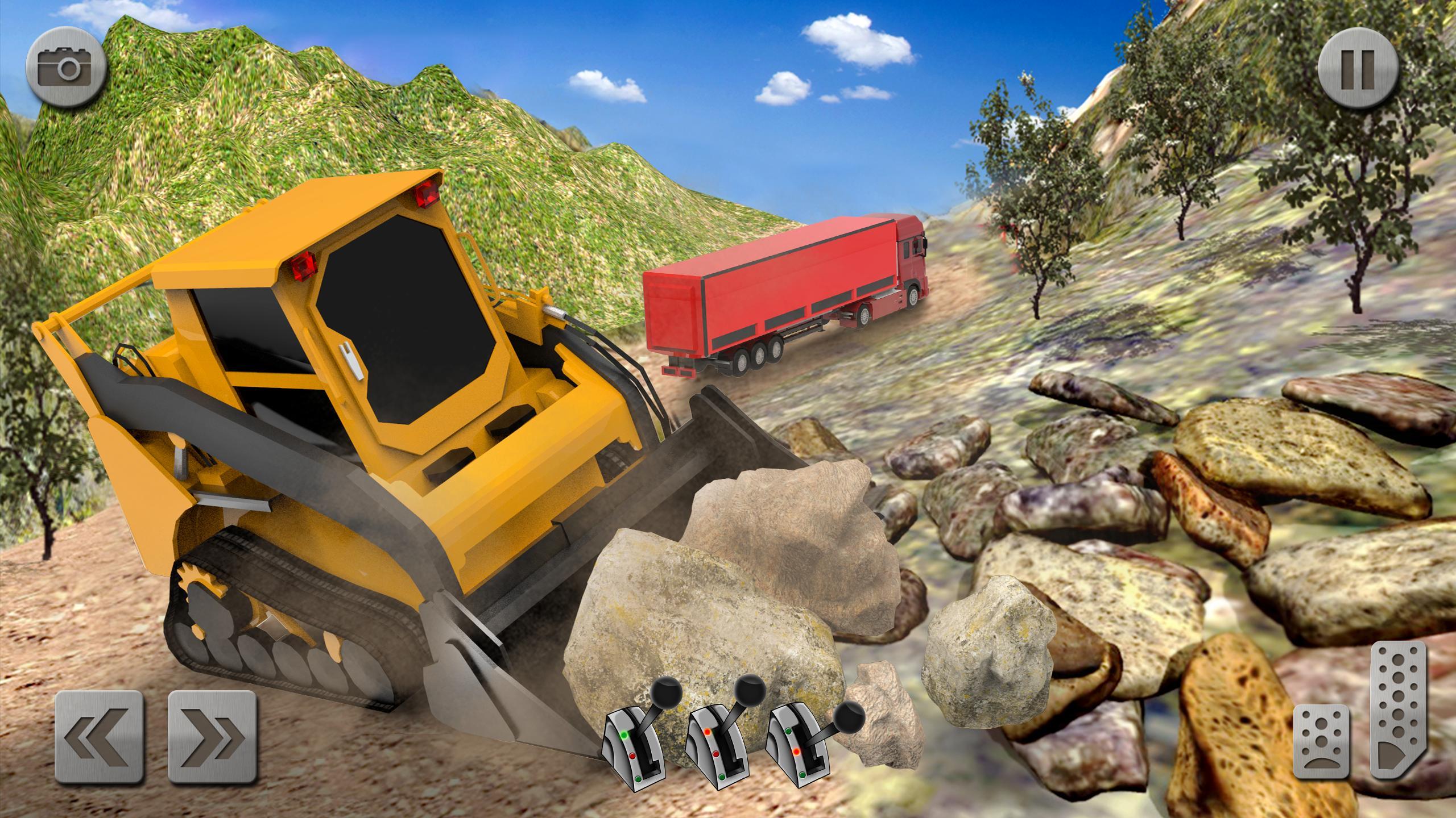 Sand Excavator Truck Driving Rescue Simulator game 5.2 Screenshot 4