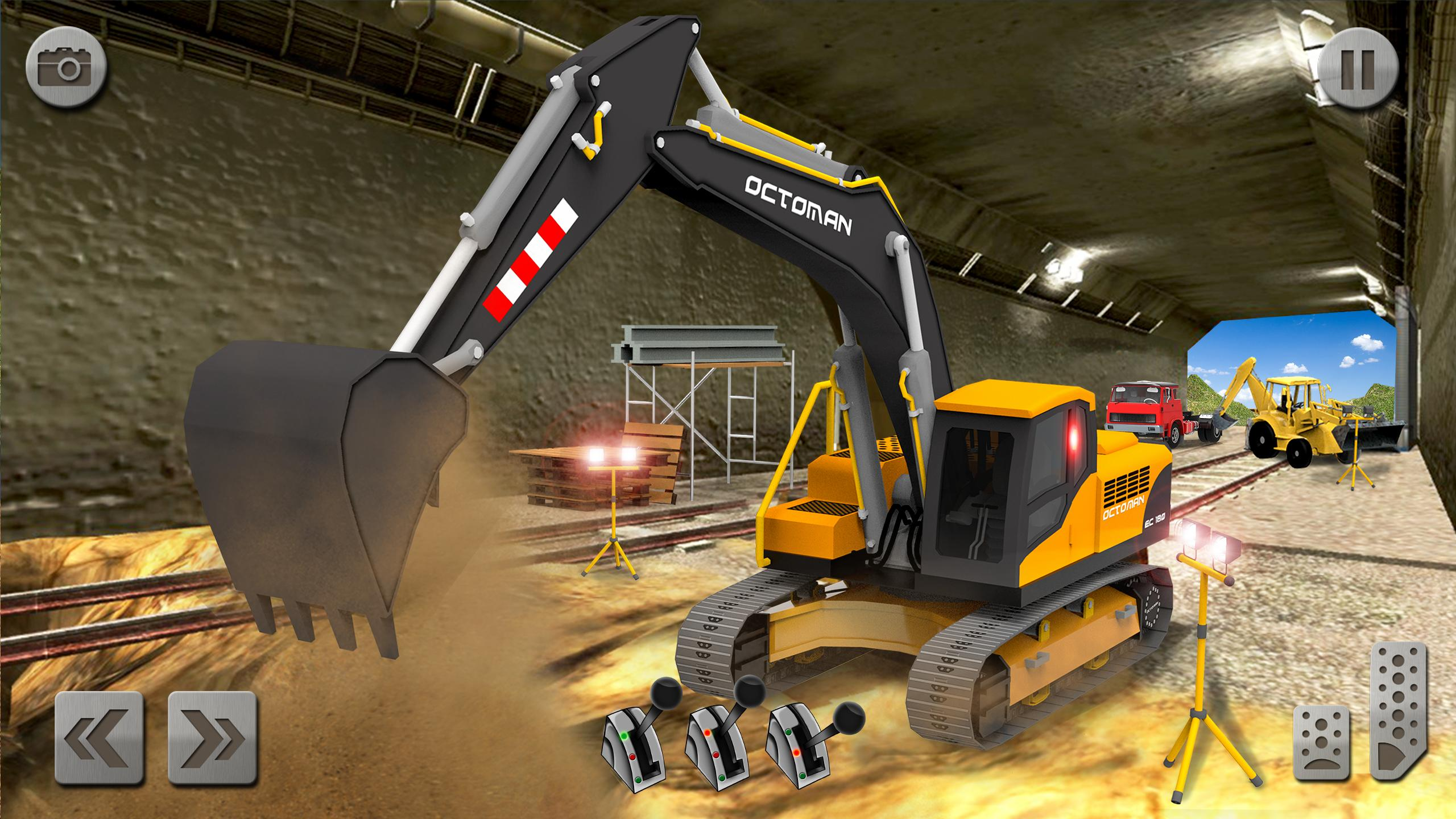 Sand Excavator Truck Driving Rescue Simulator game 5.2 Screenshot 8