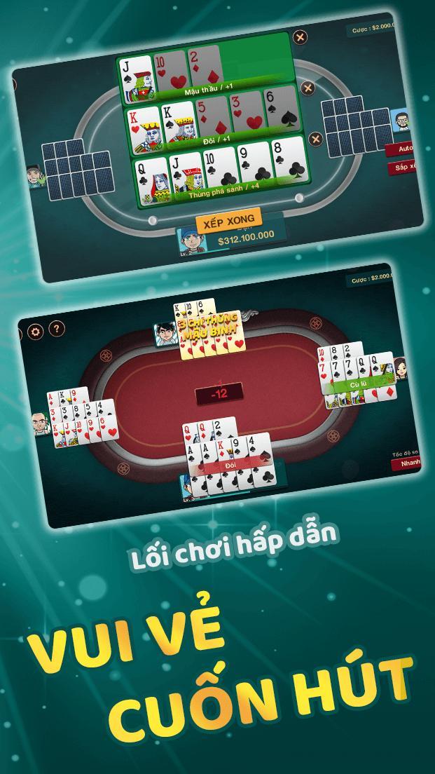 Mậu Binh - Binh Xập Xám 1.4.6 Screenshot 2