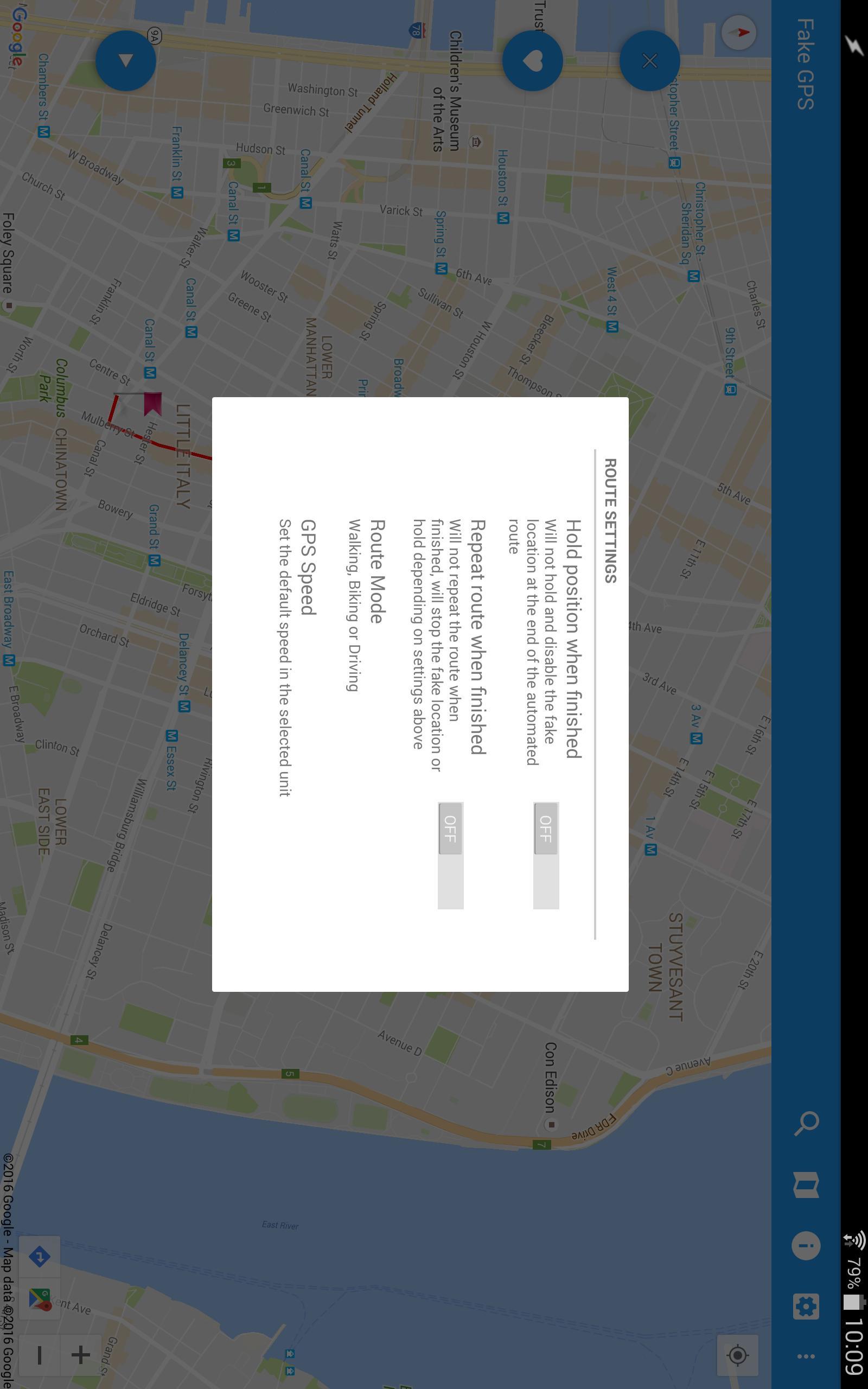 Fake GPS GO Location Spoofer Free 5.1 Screenshot 7
