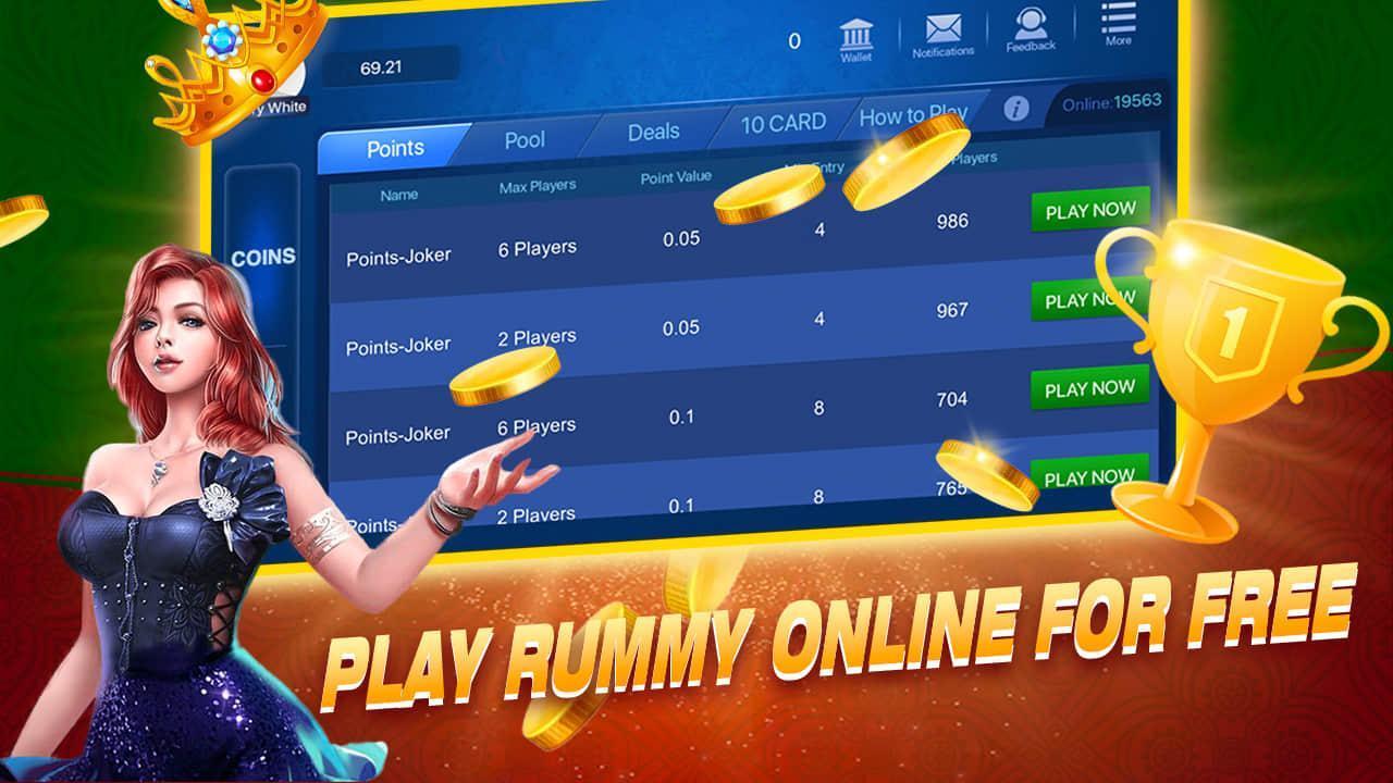 Rummyguru- 13 cards game 1.3.4 Screenshot 1