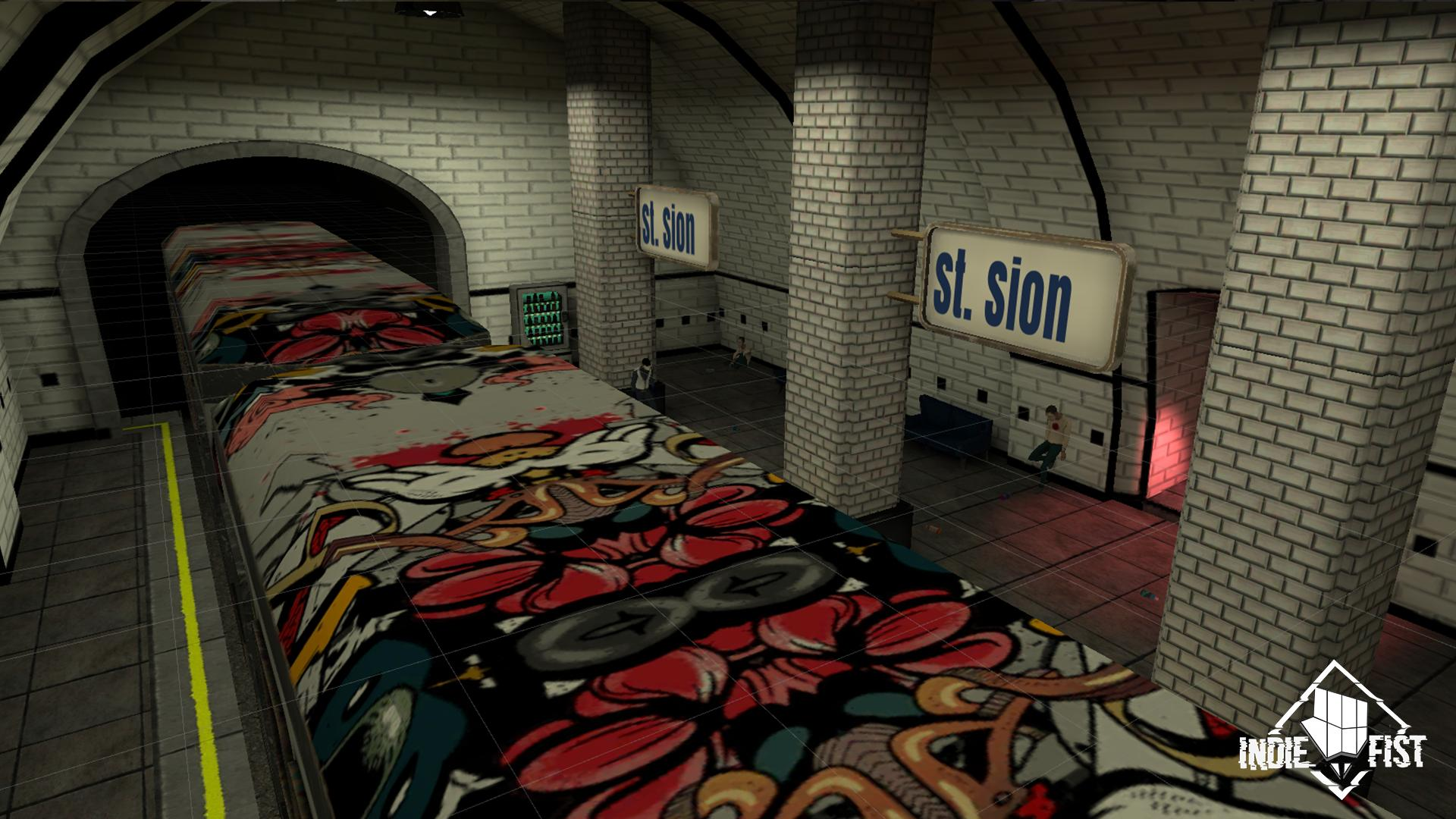 Smiling-X 2: The Resistance survival in subway. 1.5.1 Screenshot 8