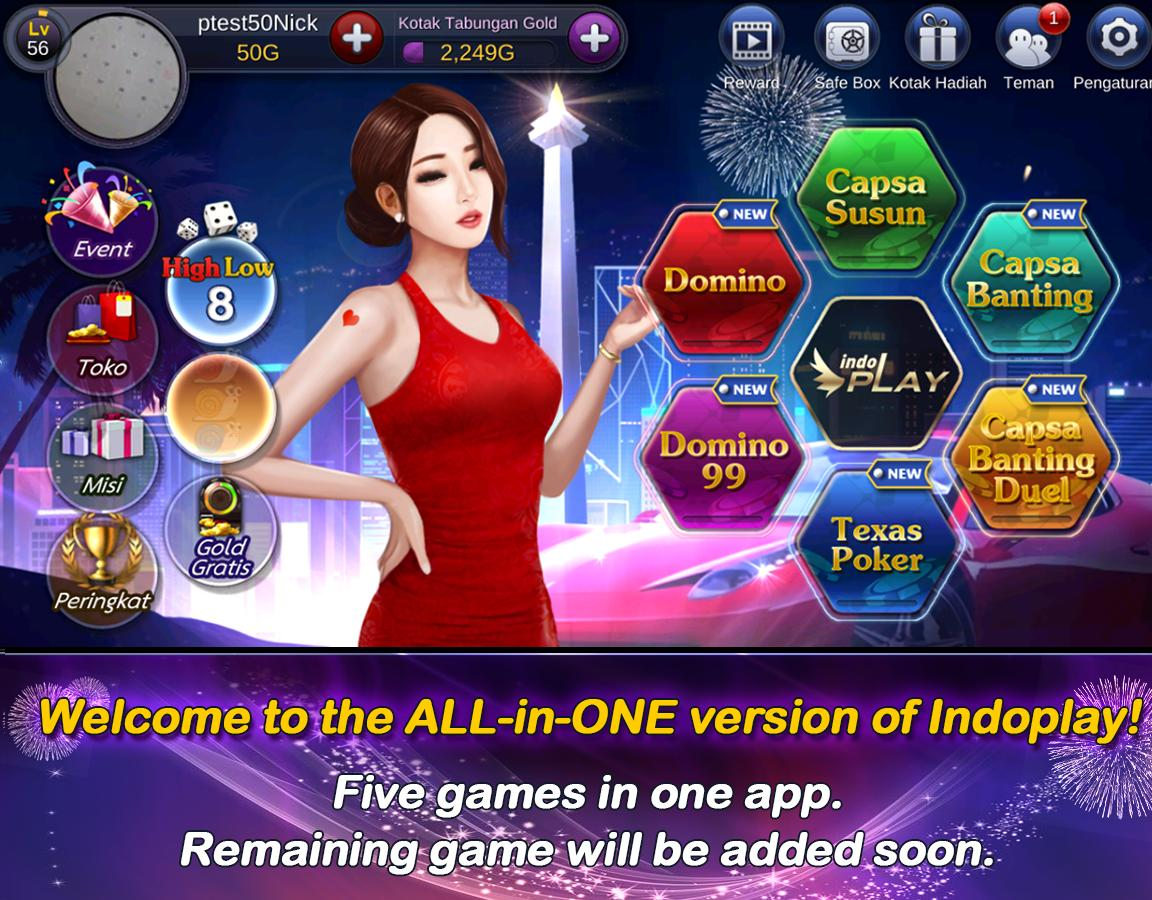 IndoPlay All-in-One 1.7.2.2 Screenshot 1