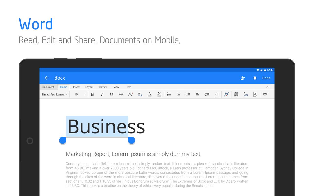Polaris Office Free Docs, Sheets, Slides + PDF 9.0.1 Screenshot 10