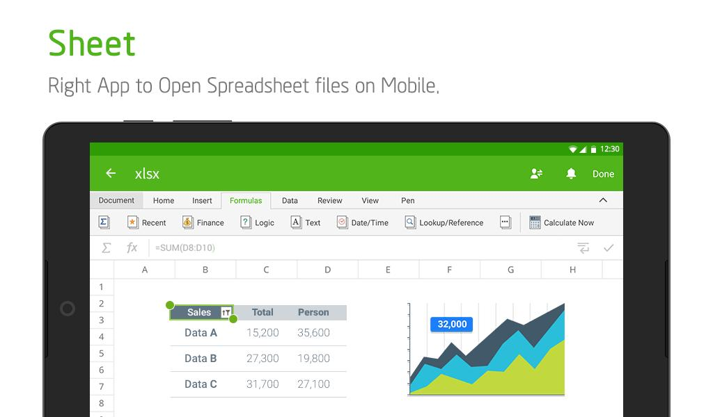 Polaris Office Free Docs, Sheets, Slides + PDF 9.0.1 Screenshot 19