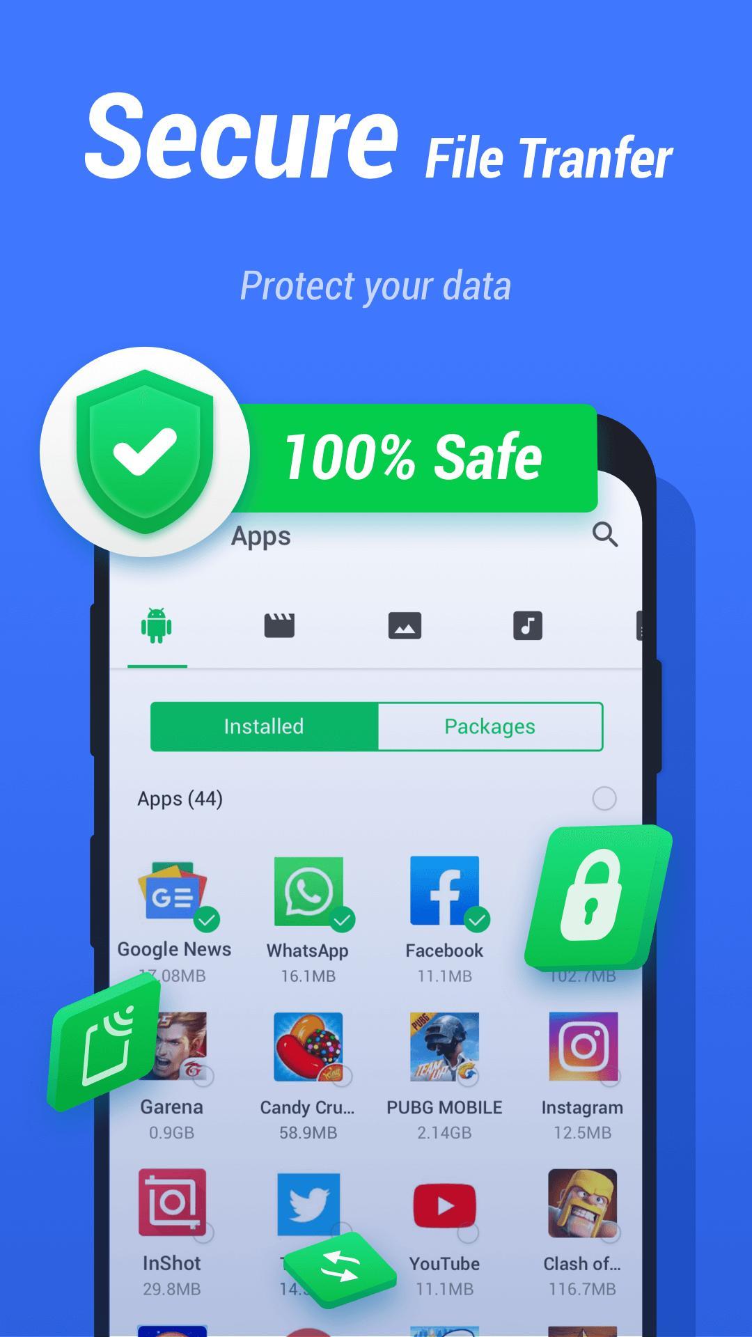 InShare Share Apps & File Transfer 1.2.1.4 Screenshot 3