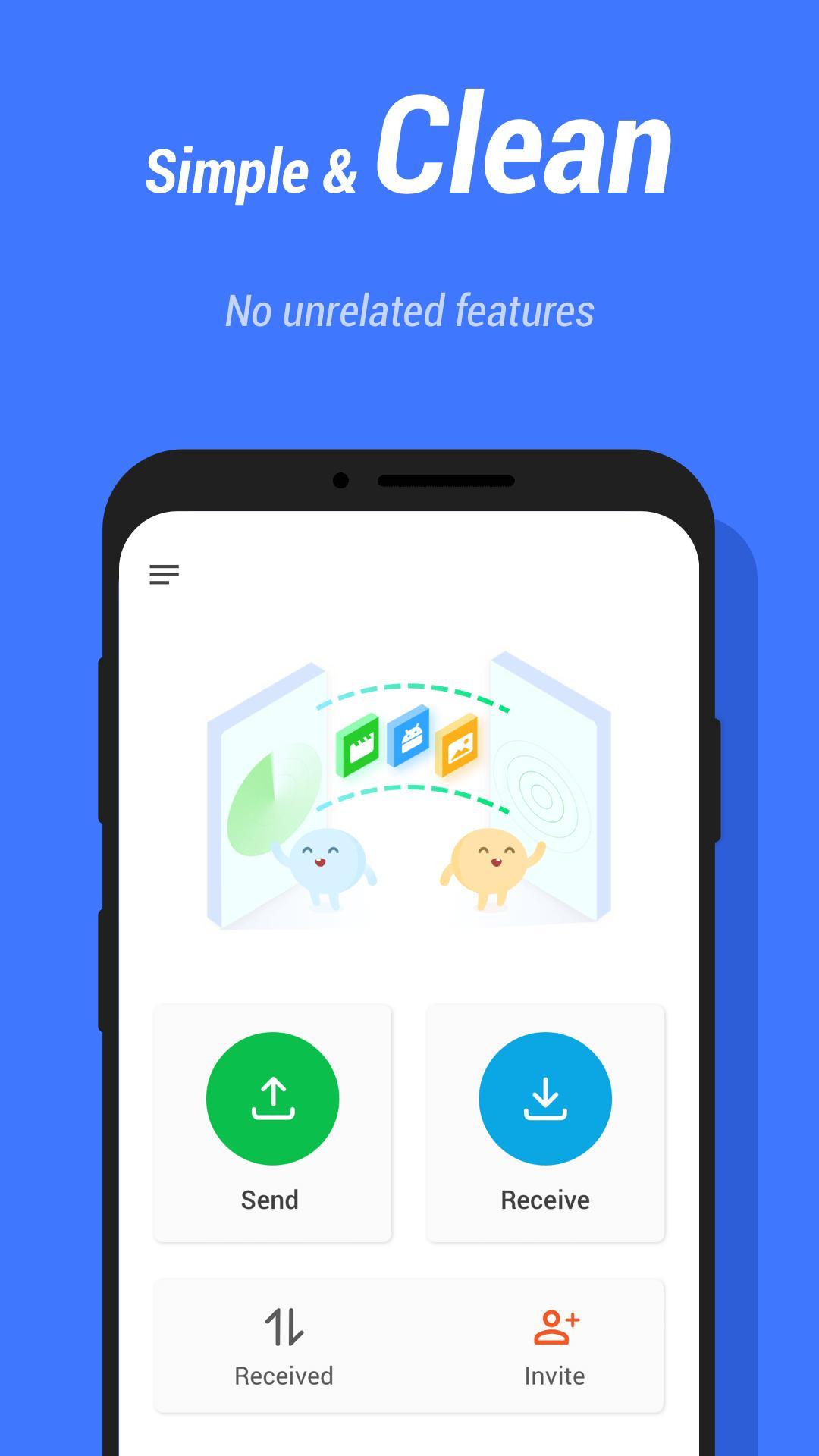 InShare Share Apps & File Transfer 1.2.1.4 Screenshot 4