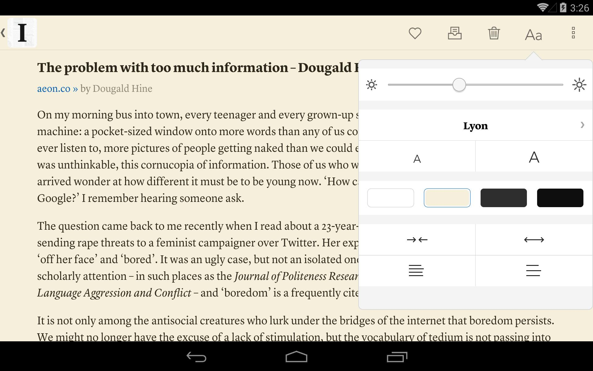 Instapaper 4.5 Screenshot 10