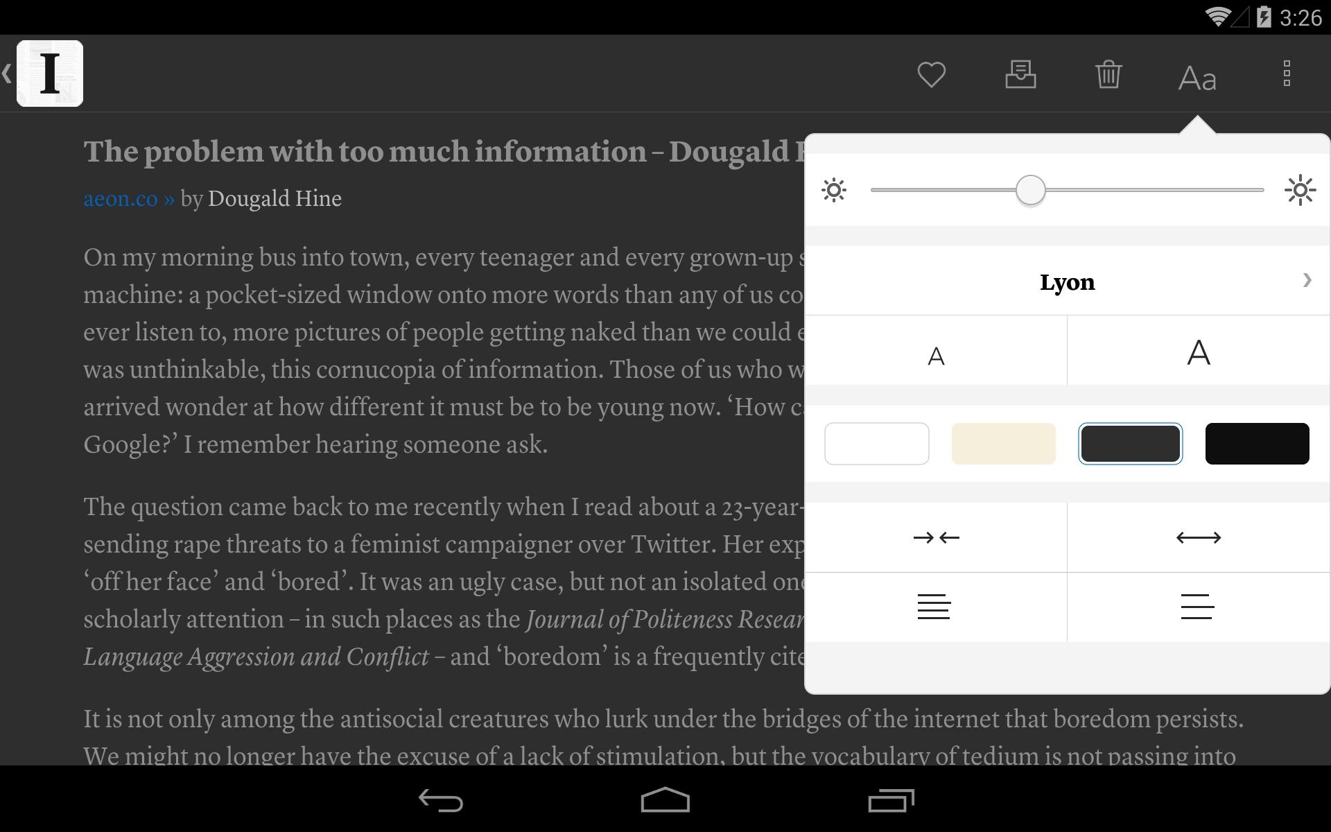 Instapaper 4.5 Screenshot 11