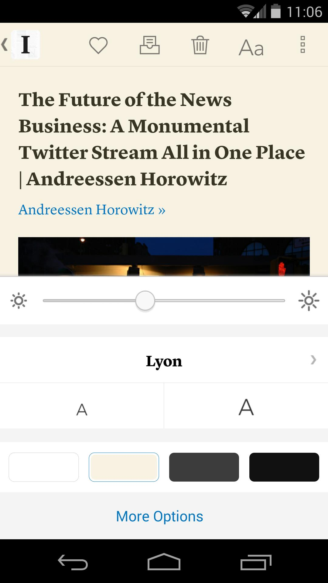 Instapaper 4.5 Screenshot 3