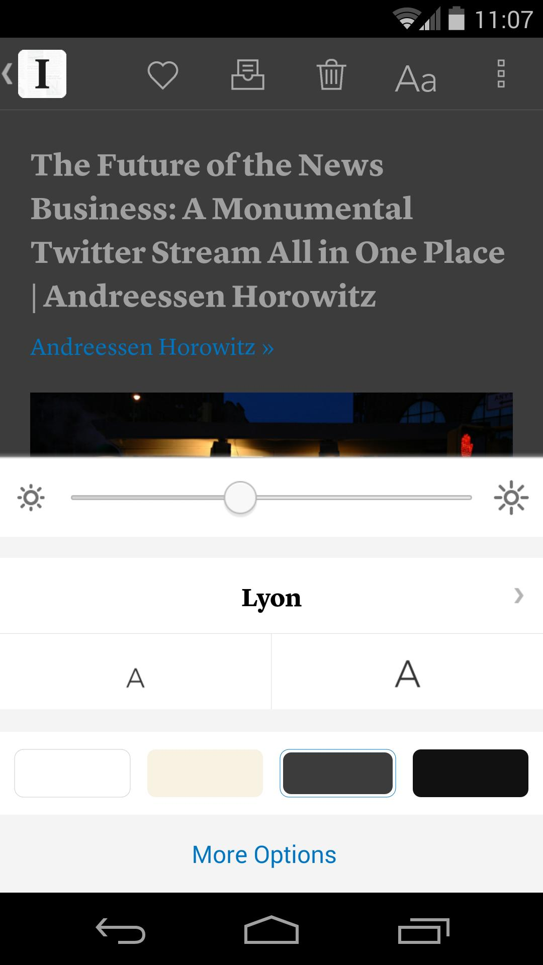 Instapaper 4.5 Screenshot 4