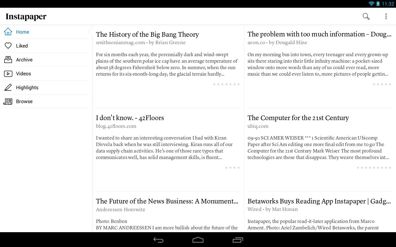 Instapaper 4.5 Screenshot 7