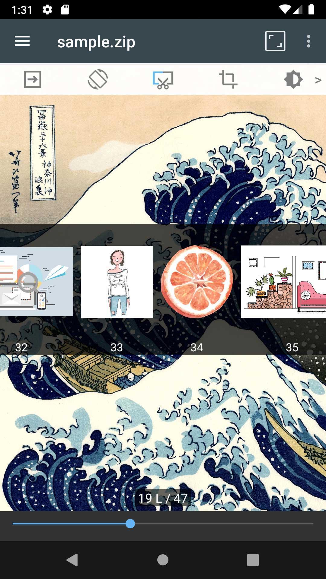ComicScreen - ComicViewer 2167 Screenshot 2