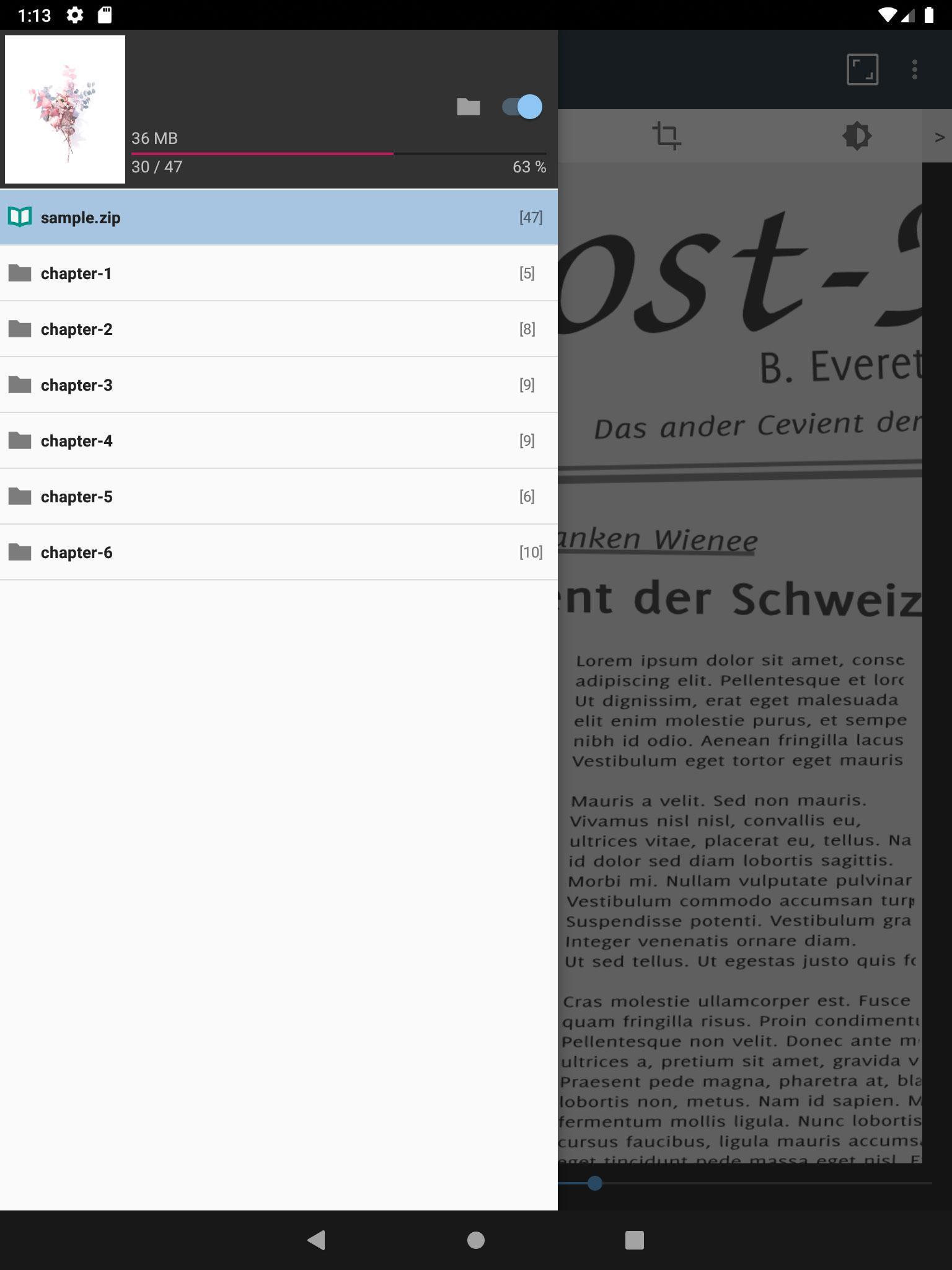 ComicScreen - ComicViewer 2167 Screenshot 9