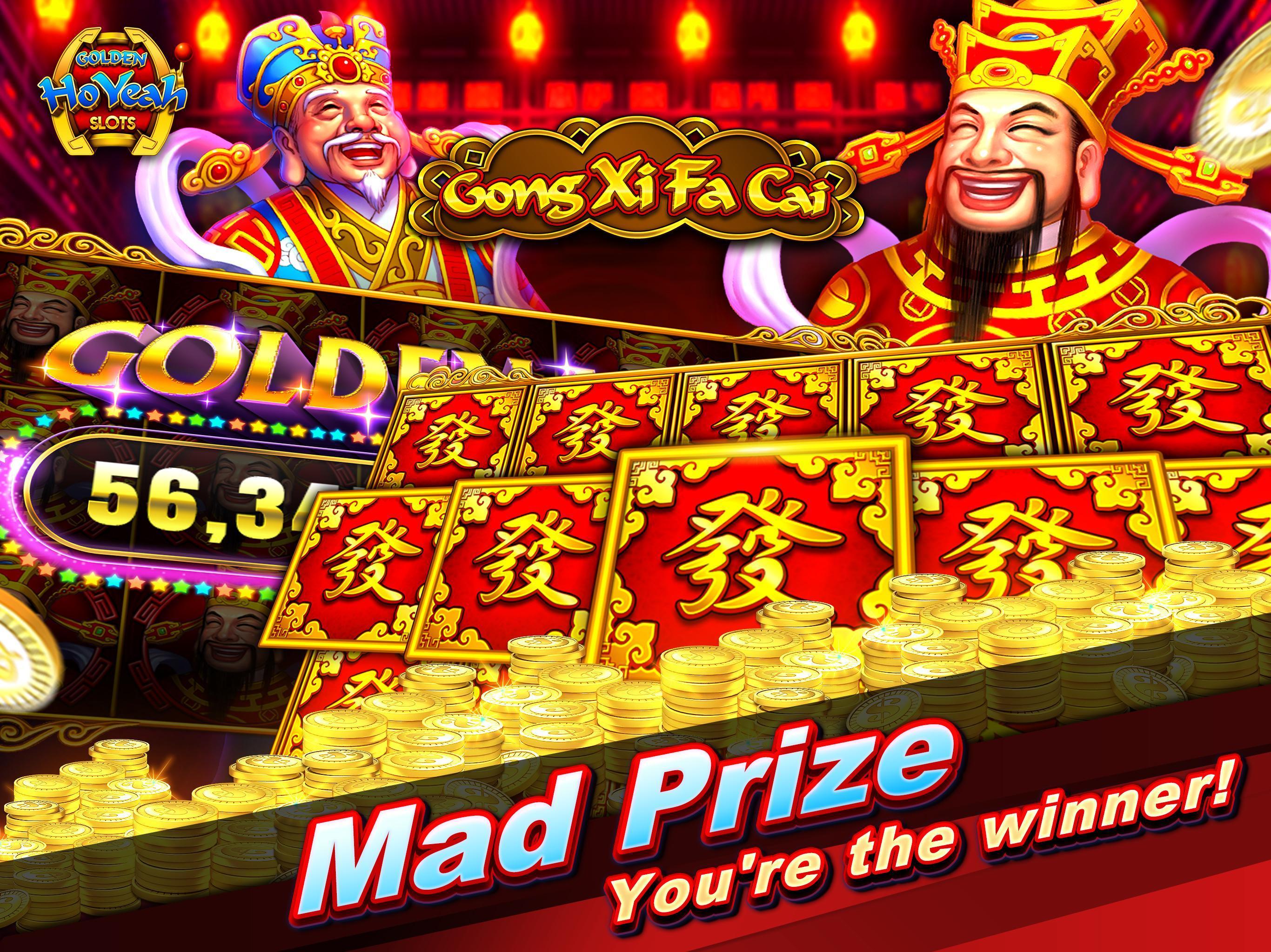 Slots (Golden HoYeah) - Casino Slots 2.5.7 Screenshot 10