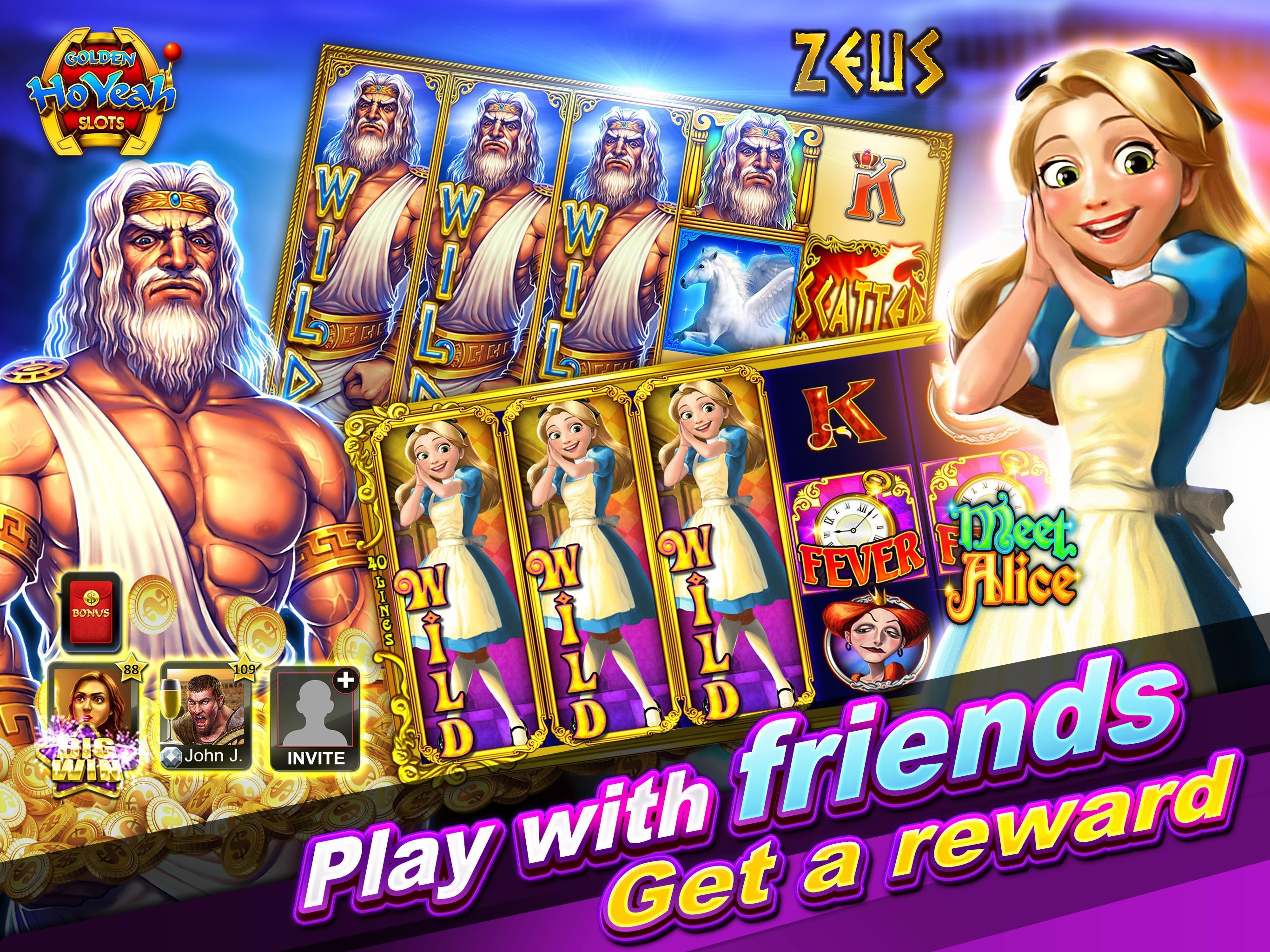 Slots (Golden HoYeah) - Casino Slots 2.5.7 Screenshot 13