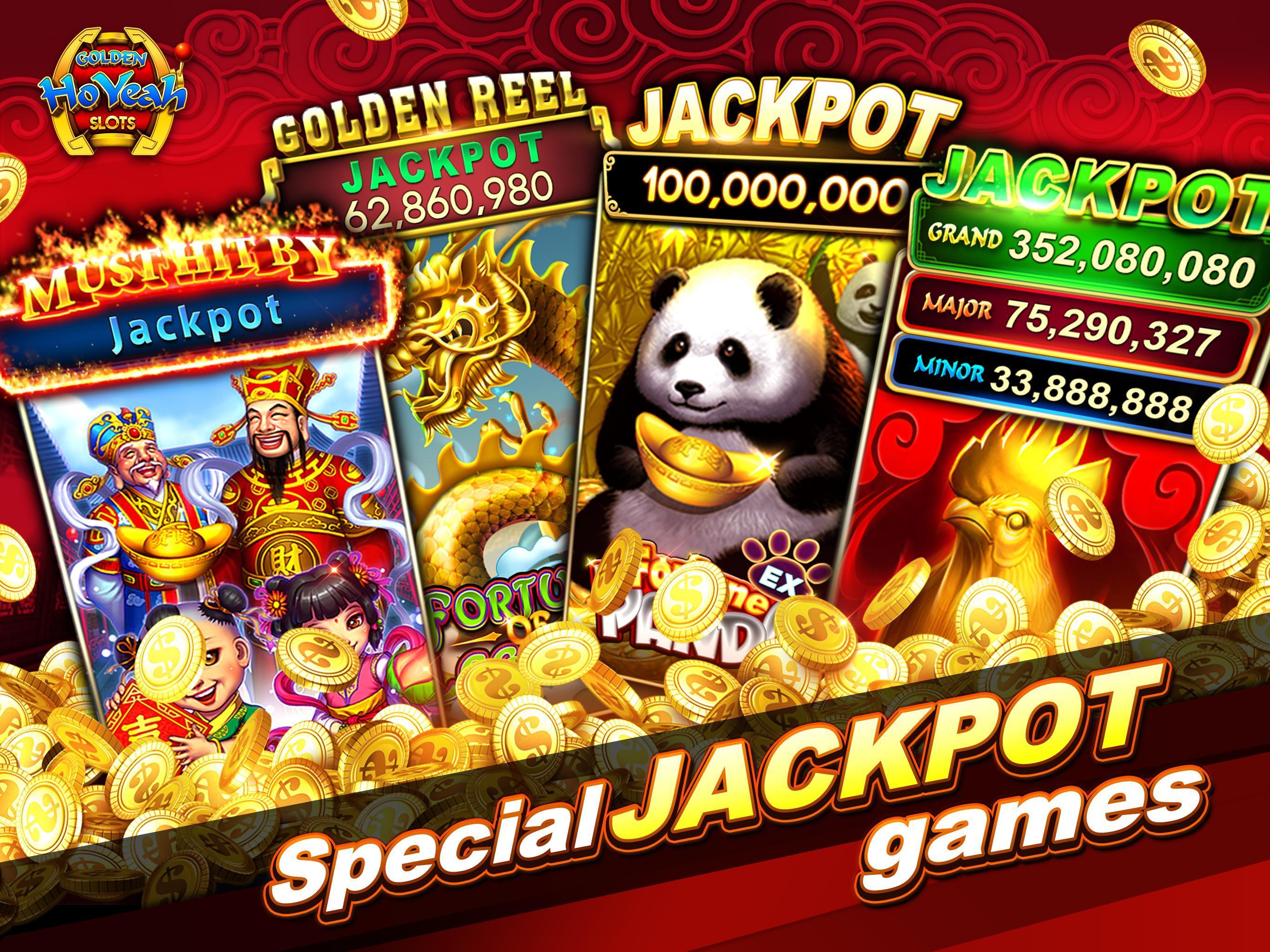 Slots (Golden HoYeah) - Casino Slots 2.5.7 Screenshot 19