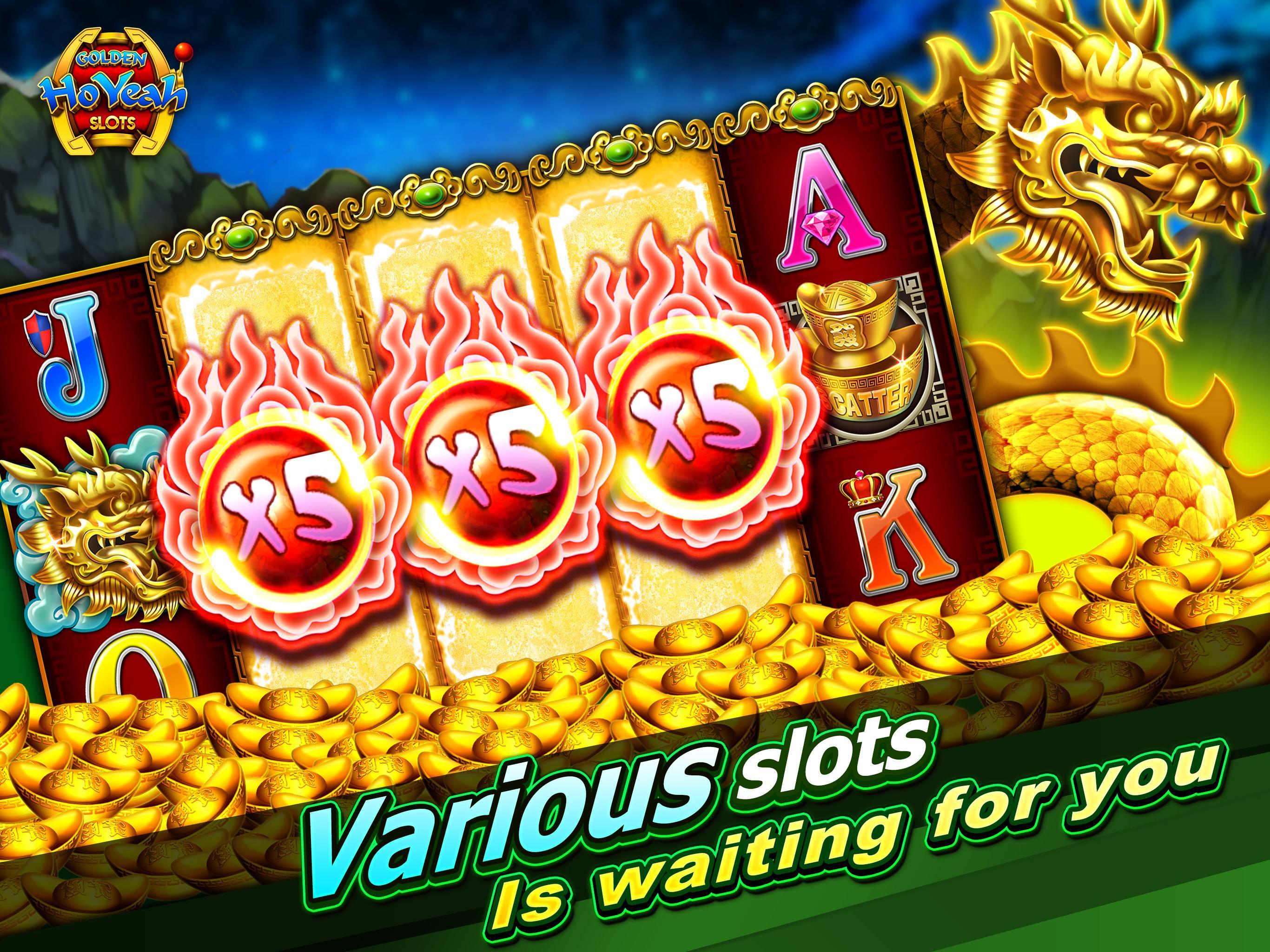 Slots (Golden HoYeah) - Casino Slots 2.5.7 Screenshot 5