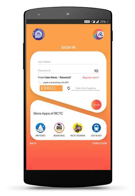 IRCTC Rail Connect 3.0.34 Screenshot 2