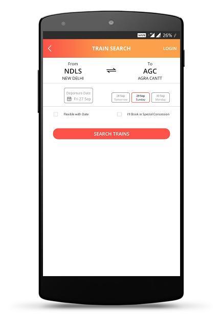 IRCTC Rail Connect 3.0.34 Screenshot 4