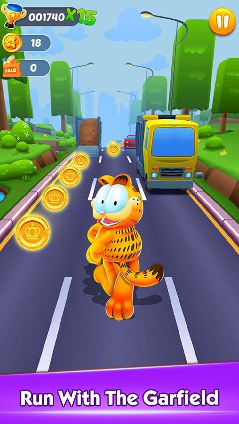 Garfield™ Rush 3.6.3 Screenshot 1
