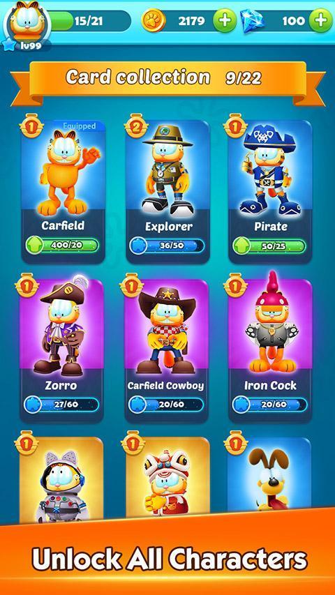 Garfield™ Rush 3.6.3 Screenshot 2