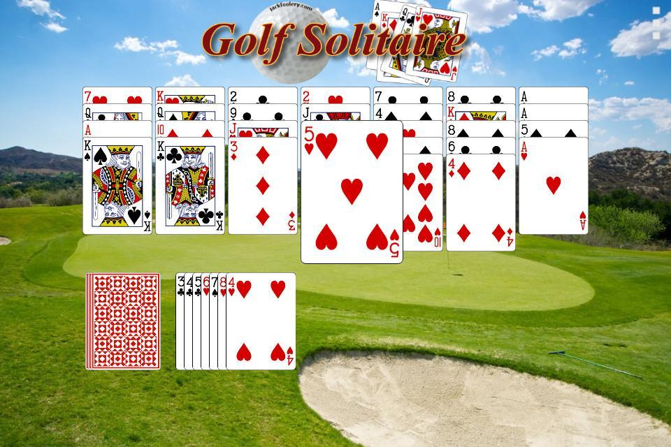 Golf Solitaire - Free 1.1 Screenshot 1