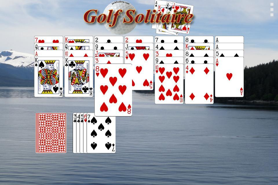 Golf Solitaire - Free 1.1 Screenshot 2