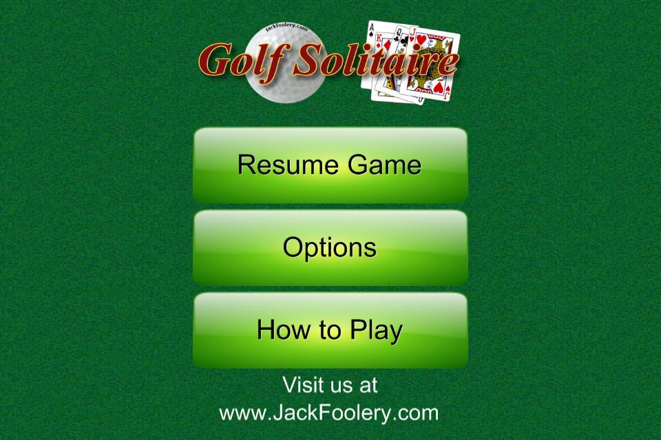 Golf Solitaire - Free 1.1 Screenshot 3