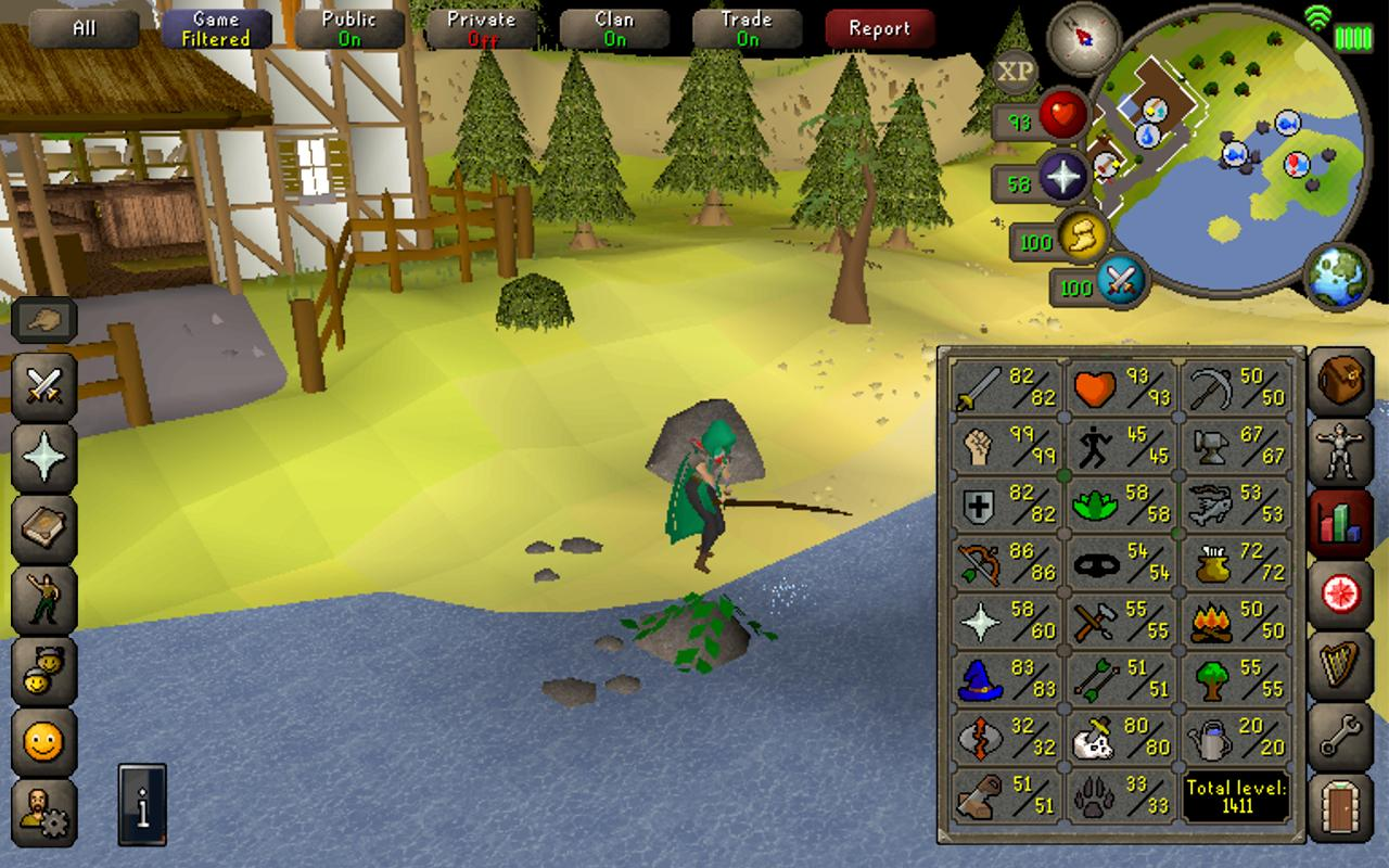 Old School RuneScape 192.1 Screenshot 24