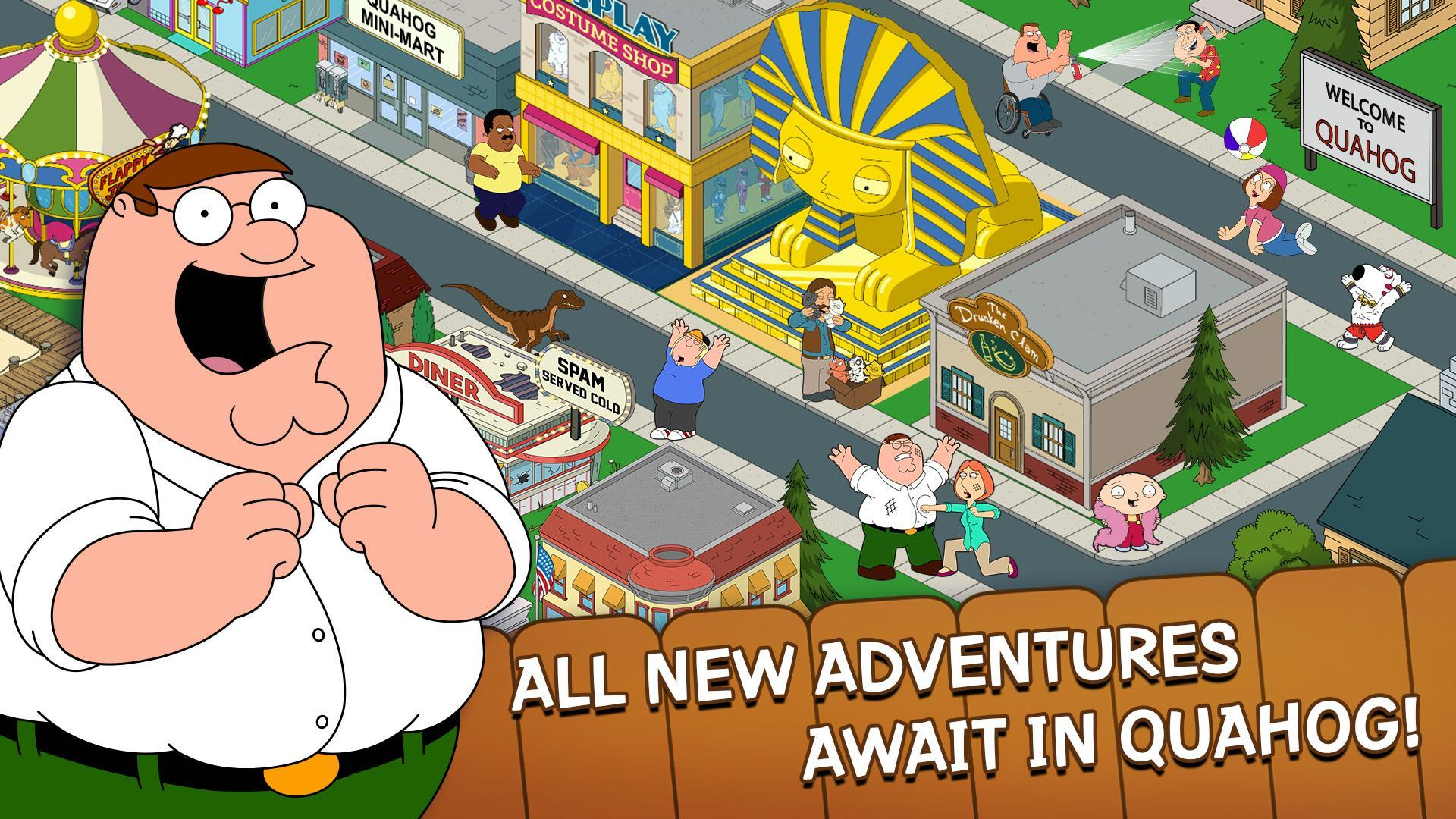 Family Guy The Quest for Stuff 3.8.1 Screenshot 1