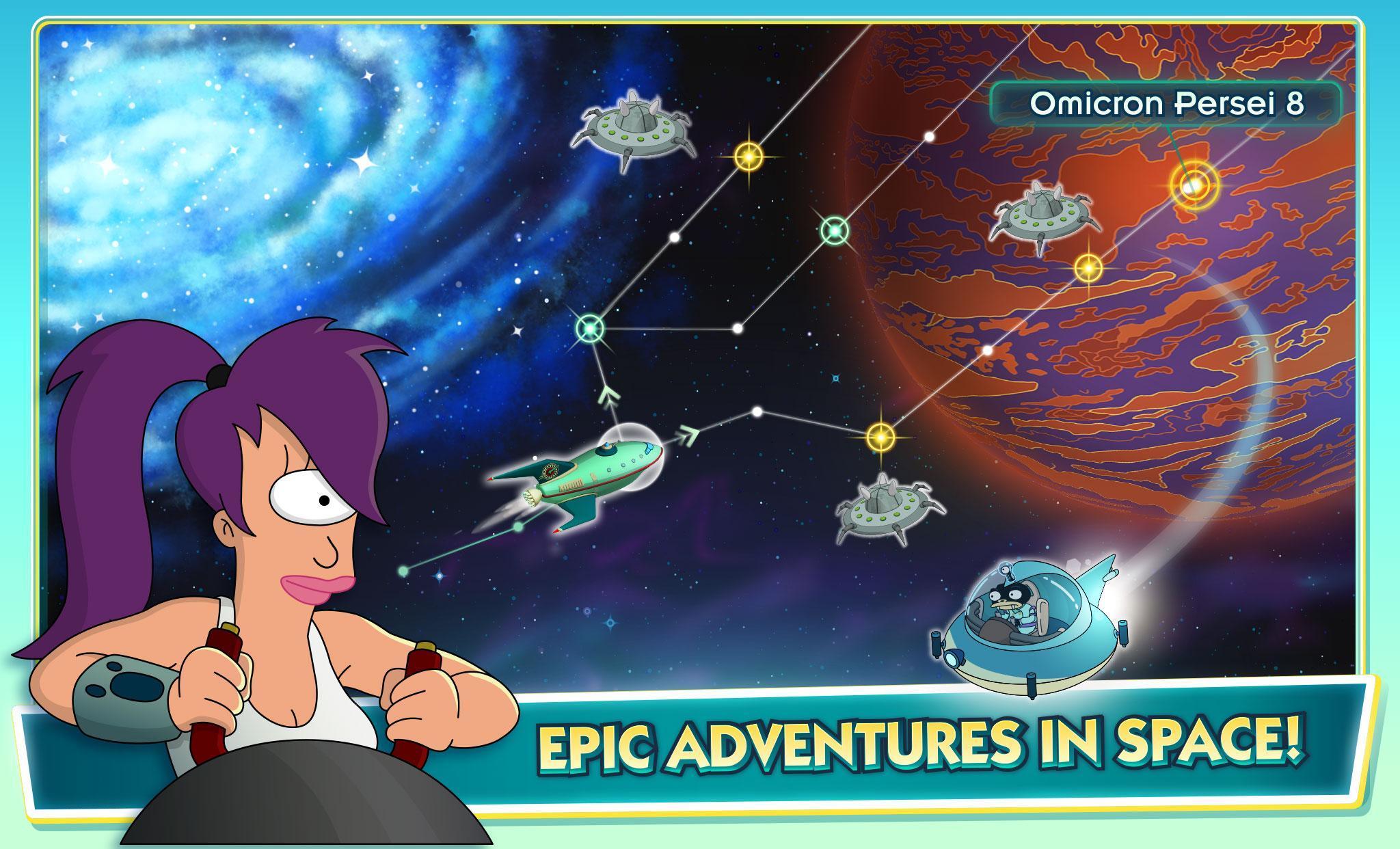 Futurama Worlds of Tomorrow 1.6.6 Screenshot 13