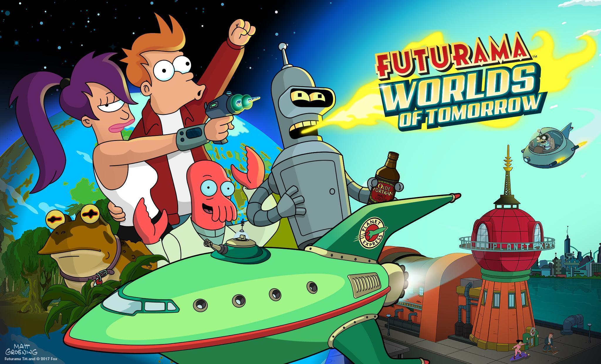 Futurama Worlds of Tomorrow 1.6.6 Screenshot 15
