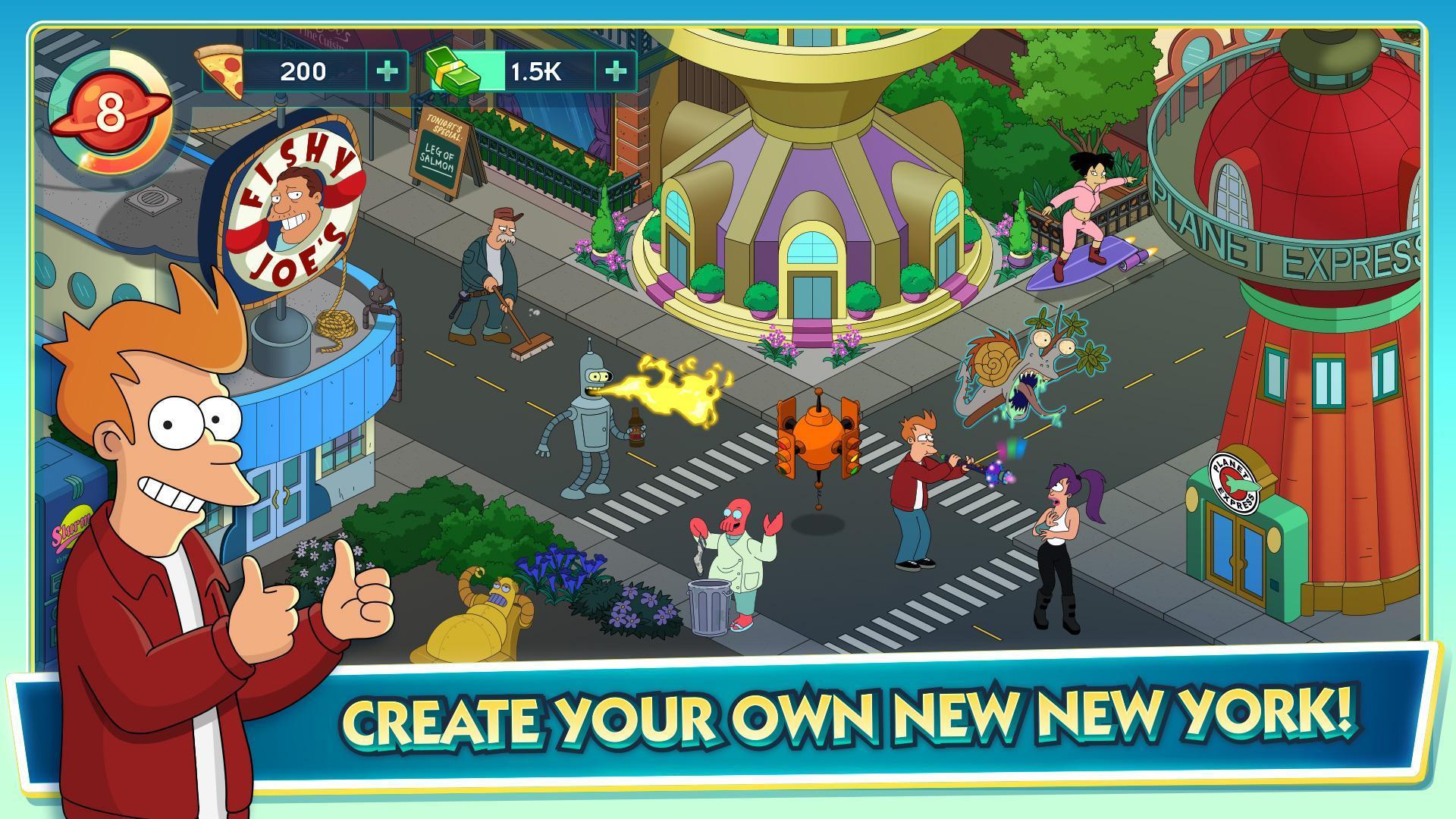 Futurama Worlds of Tomorrow 1.6.6 Screenshot 2