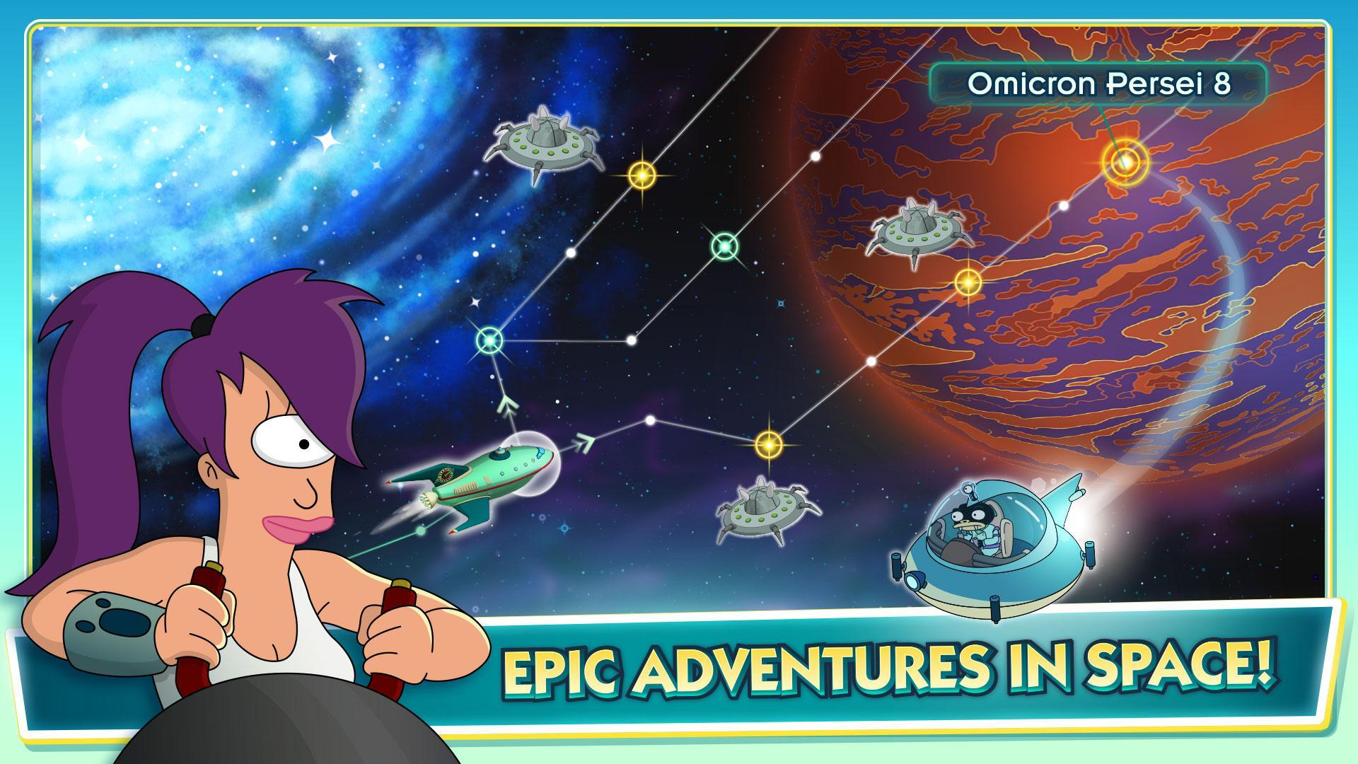 Futurama Worlds of Tomorrow 1.6.6 Screenshot 6