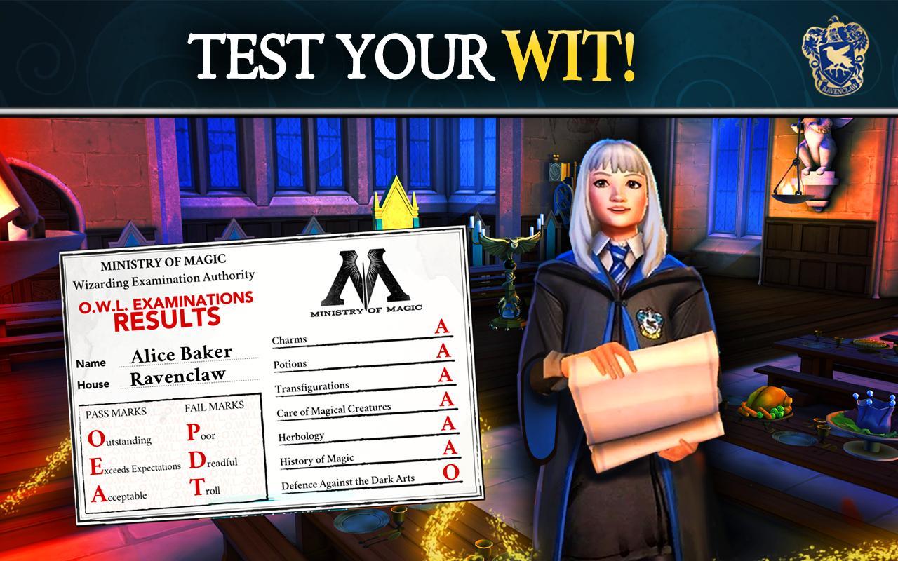 Harry Potter Hogwarts Mystery 2.9.2 Screenshot 2