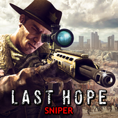 Last Hope Sniper Zombie War: Shooting Games FPS app icon