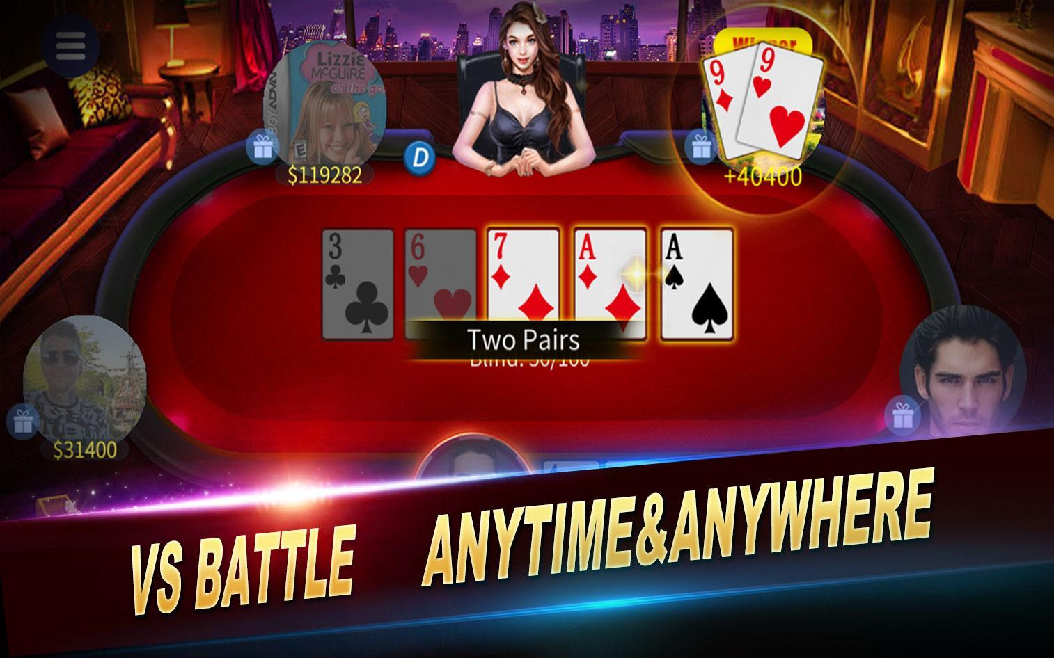 JYou Poker Texas Holdem 2.2.01 Screenshot 1