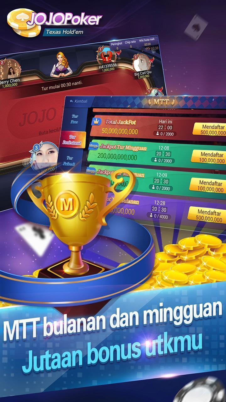 JOJO Texas Poker 1.4.9 Screenshot 8