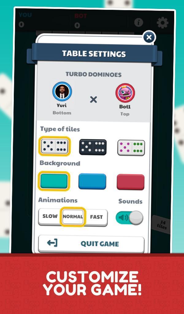 Dominoes Jogatina: Classic Board Game 5.1.1 Screenshot 23