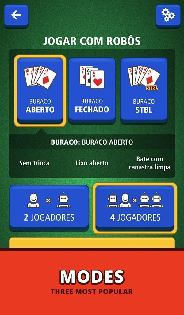 Buraco Canasta Jogatina: Card Games For Free 4.0.2 Screenshot 21