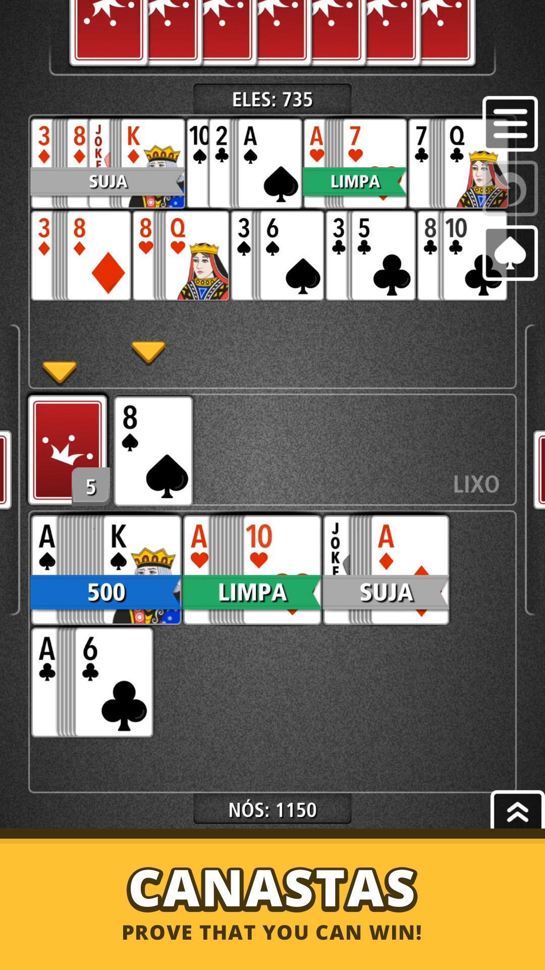 Buraco Canasta Jogatina: Card Games For Free 4.0.2 Screenshot 7